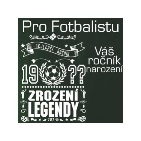 Zrození legendy - pro fotbalistu - Dámské maskáčové triko