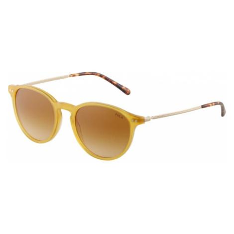 Polo Ralph Lauren Sluneční brýle '0PH4169' tmavě žlutá / žlutá / zlatá / hnědá