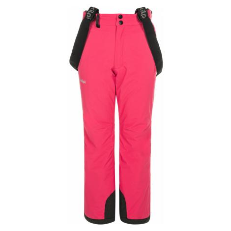 KILPI Dívčí lyžařské kalhoty EUROPA-JG NJ0030KIPNK Růžová