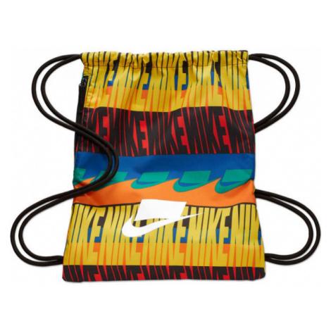 Nike HERITAGE GMSK - 2.0 AOP žlutá - Gymsack