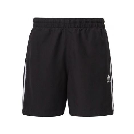 Adidas Plavecké šortky 3-Stripes Černá