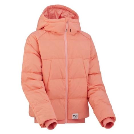 KARI TRAA SKJELDE JACKET růžová - Dámská zimní bunda