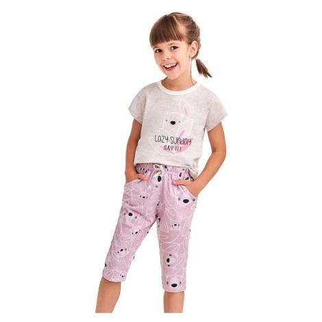 Dívčí pyžamo Beky béžové koala Taro
