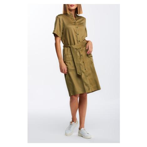 ŠATY GANT D2. SAFARI SS SHIRT DRESS