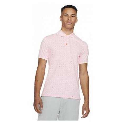 Tričko Nike Golf The Space Dot Polo Shirt Světle růžová