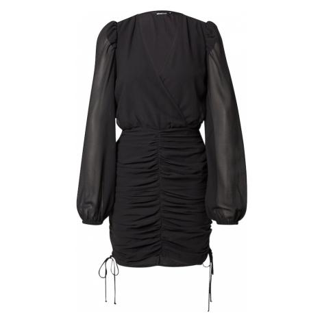 Gina Tricot Šaty 'Isa' černá
