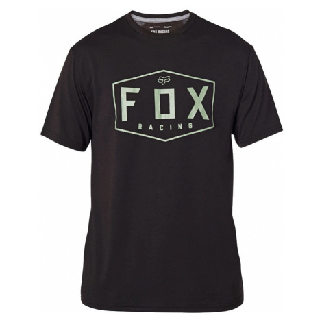 Tričko Fox Crest Tech black/green