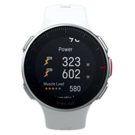 POLAR VANTAGE V bílá - Multisportovní hodinky s GPS a záznamem tepové frekvence