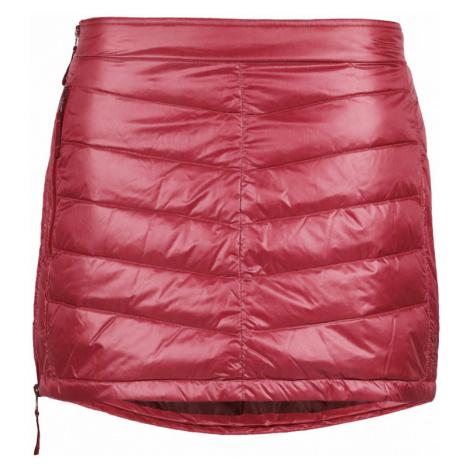 Péřová zimní sukně SKHOOP Mini Down sweet red