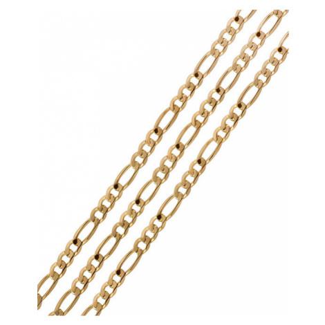 Brilio Pánský zlatý řetízek cm 115 10
