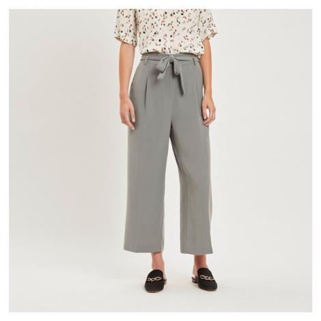 Šedé culottes kalhoty Viblami Vila