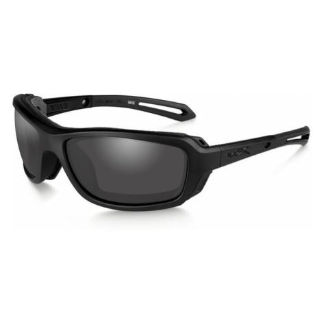 Sluneční brýle Wiley X® Wave - černý rámeček, kouřově šedé čočky