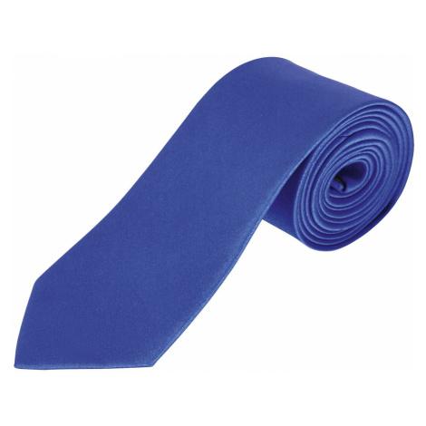 SOĽS Saténová kravata GARNER 02932256 Royal blue SOL'S