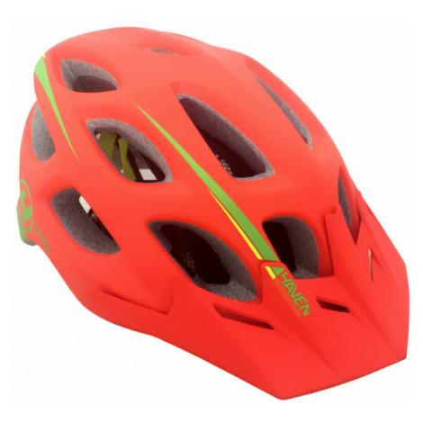 Cyklistická helma Haven Singletrail oranžová