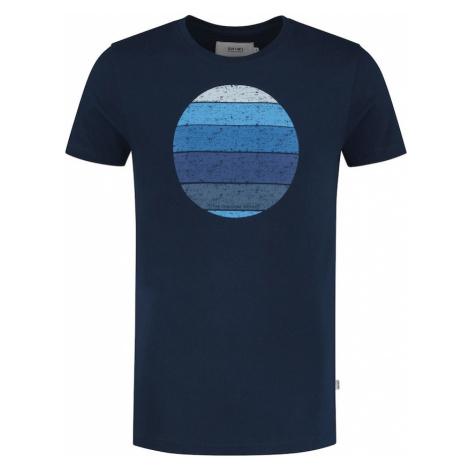 Shiwi Tričko 'Sunset Shades' tmavě modrá / nebeská modř / chladná modrá / světlemodrá / azurová