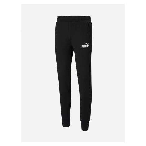 Černé pánské tepláky Puma Ess Slim Pants FL