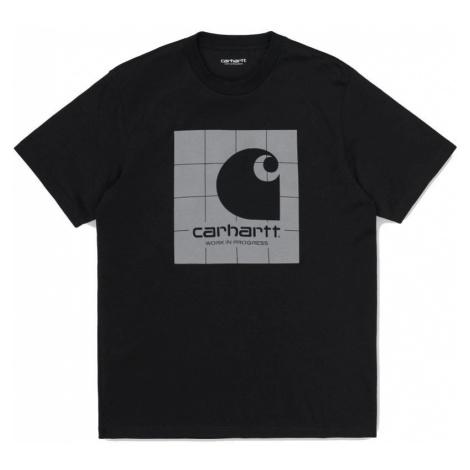 TRIKO CARHARTT Reflective Square S/S - černá Carhartt WIP