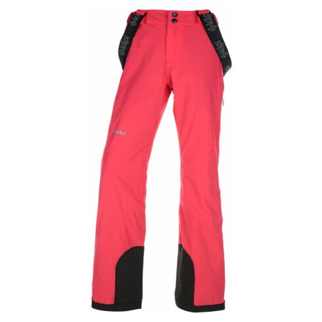 KILPI Dámské lyžařské kalhoty - větší velikosti EUROPA-W JLX010KIPNK Růžová