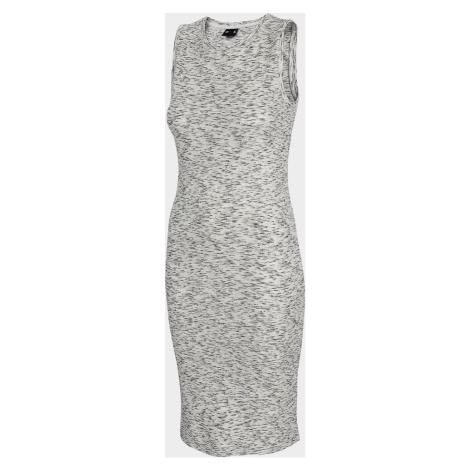 Dámské šaty 4F SUDD301 Šedé