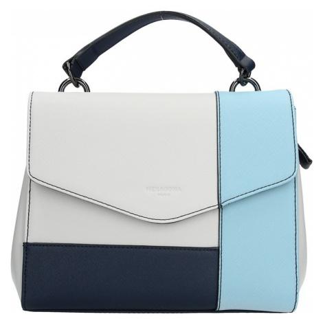 Dámská kabelka Hexagona 505237 - modro-bílá