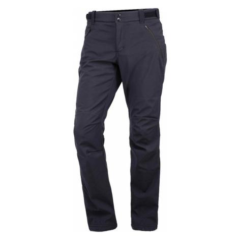 NORTHFINDER ALDORA Pánské softshellové kalhoty NO-3437OR390 modrášedá