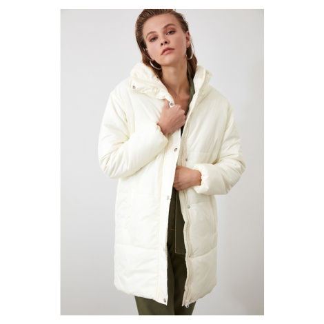 Women's jacket Trendyol Ekru