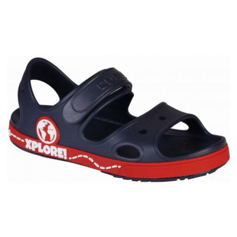 Coqui YOGI modrá - Dětské sandály