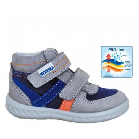 obuv dětská celoroční SOREN, Protetika, šedá