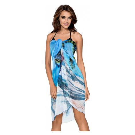Plážové pareo Hawai modré 100x150 Lorin