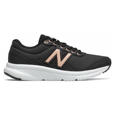 Dámská Fitness obuv New Balance W411LB2 Černá / Bílá
