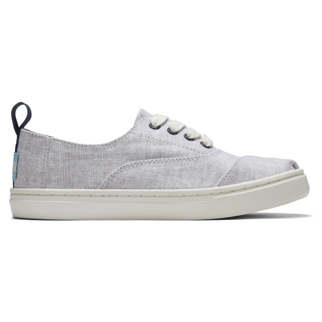 DRZL GRY CHAMBRAY YT CRDCP SNEAK Toms