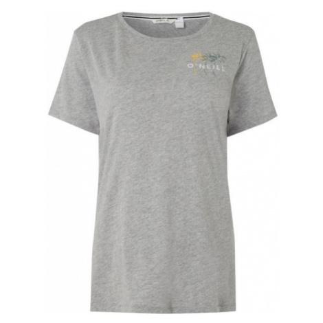 O'Neill LW DORAN T-SHIRT šedá - Dámské tričko