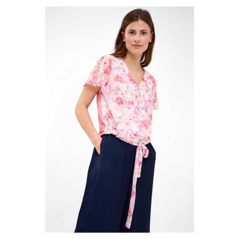 Zavinovací květované tričko Orsay