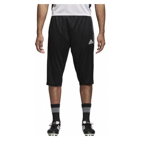 3/4 tepláky Adidas Core 18 Černá