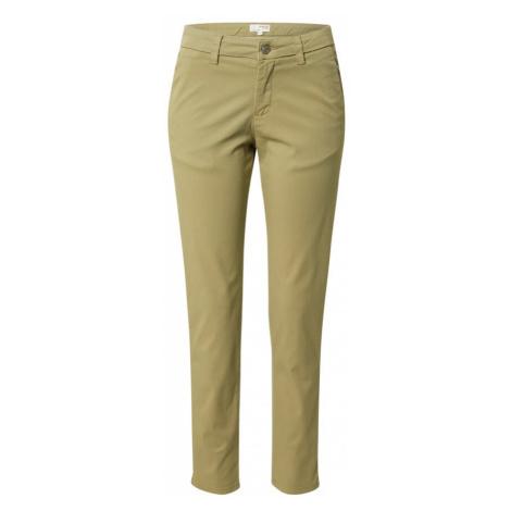 SELECTED FEMME Chino kalhoty 'MILEY' světle zelená