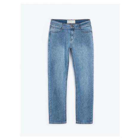 GATE Jednoduché džíny straight fit