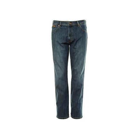 Wrangler jeans Texas Classic Strike pánské modré