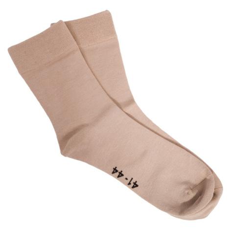 Ponožky Gino bambusové béžové (82000) L