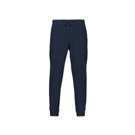 Polo Ralph Lauren PANTALON DE JOGGING EN DOUBLE KNIT TECH LOGO PONY PLAYER Modrá