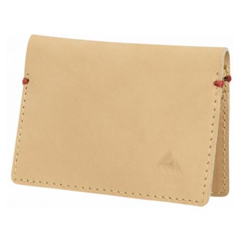 Burton peněženka na karty Cardfold Wallet Natural