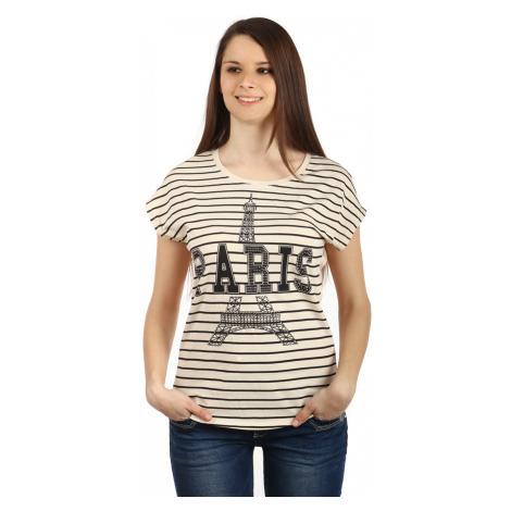 Bavlněné dámské tričko Paris