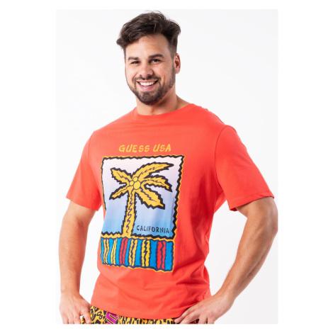 Pánské tričko Guess F92I02