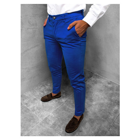 Chinos kalhoty v kobaltové barvě JB/JP1146/8