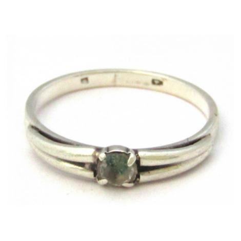 AutorskeSperky.com - Stříbrný prsten s topazem -  S1794
