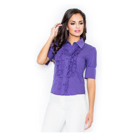 Figl Woman's Shirt M025 Indigo