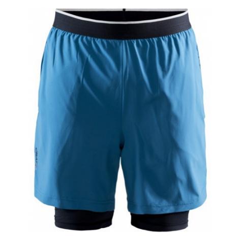 Pánské šortky CRAFT Charge 2v1 modrá