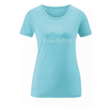 Dámské tričko Maier Sports Free Spirit angel blue melange