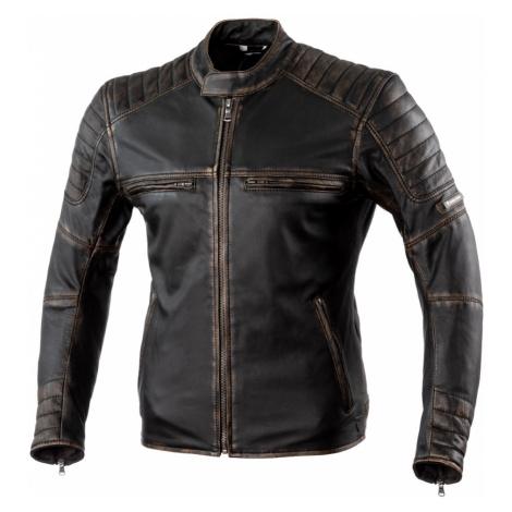 Kožená Moto Bunda Rebelhorn Hunter Pro Ce Black