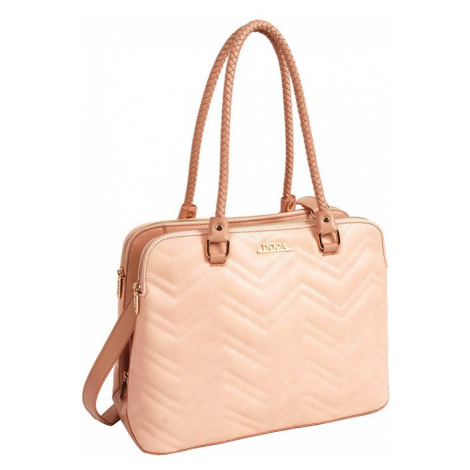 Dámská kabelka Doca 13441 - růžová