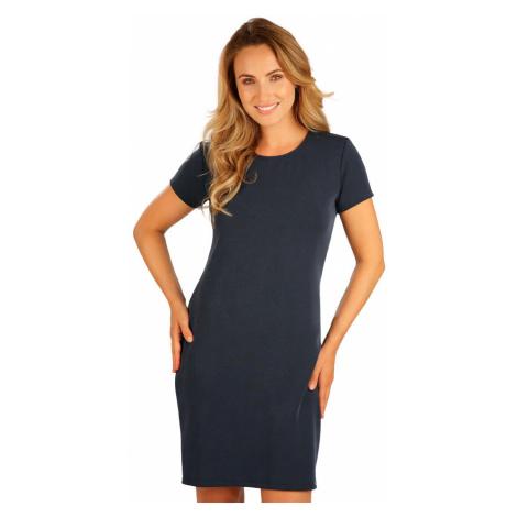 LITEX Šaty dámské s krátkým rukávem 5B239514 tmavě modrá